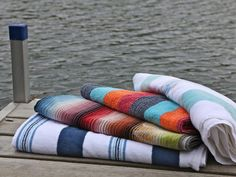 Spiaggia Beach Towels: Quick Dry Beach Towel made of Organic Cotton