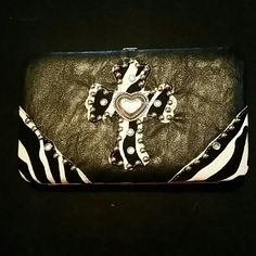 Wallet Black, 6x8 Bags Wallets