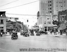 Dallas, Pacific Avenue, circa 1920