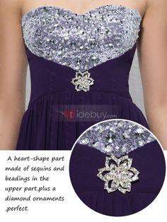 Love this dress for my brides maids. Would want to get it in Ice blue....Glamorous A-Line Sweetheart Ruffles Sequins Beading Crystal Empire Waistline Evening Dress...Please post your opinion.