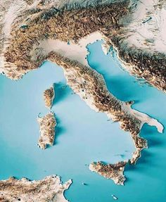 Discover the best destination where you need to go during spring in Italy, from cities to archeological sites, from festivals to botanic gardens. Italy Map, Italy Travel, Travel List, Budget Travel, Spring In Italy, Weather In Italy, Travel Around The World, Around The Worlds, Topographic Map
