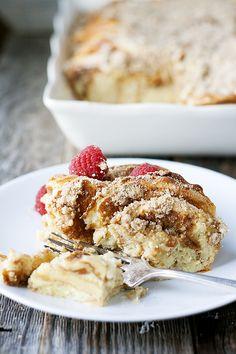 overnight pancake casserole - Heather's French Press