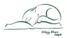 M. Cat On Book 2 by =sidneyeileen on deviantART