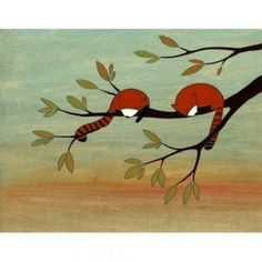 Red Pandas by Kristiana Parn $25