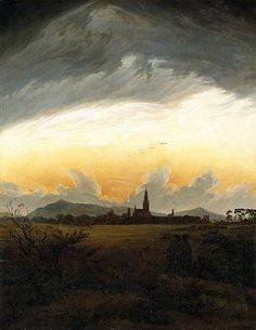 Caspar David Friedrich (1774-1840) German Romantic Painter