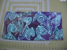 1 yard of Batik Leaf leaves Cotton Fabric Tie Dyed by joyfully3