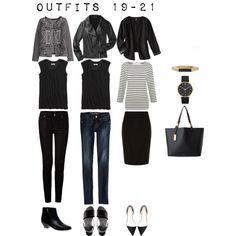 """""""Outfits 19-21"""" by designismymuse on Polyvore"""