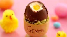 Chocolate Easter Eggs (Easy, No-Bake Recipe) - Gemma's Bigger Bolder Bak...