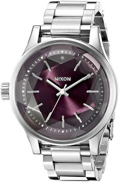 Nixon Women's A4092157 Facet 38 Analog Display Japanese Quartz Silver Watch ** Click on the image for additional details. (This is an Amazon Affiliate link and I receive a commission for the sales)
