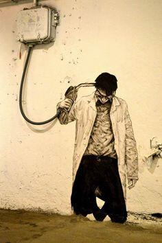 Street Art by Charles Levalet