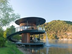 Shore Vista Boat Dock | Calvin Chen | Archinect
