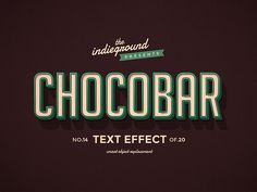 Retro/Vintage Text Effects Vol.2 on Behance
