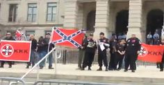 WATCH: Atlanta Police Protect KKK Rally, Remove Counter-Protesters