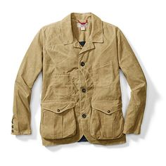 Filson - Guide Work Jacket with Soy Wax (khaki)