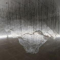 installation by Yasuaki Onishi: Reverse of volume RG