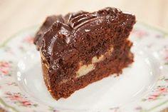 Η ΔΙΑΔΡΟΜΗ ®: Σοκολατένιο κέικ με μπανάνα και πορτοκάλι