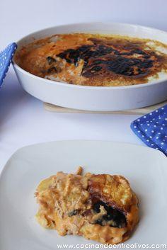 Patatas con bechamel y atún (15) by Cocinando entre Olivos, via Flickr