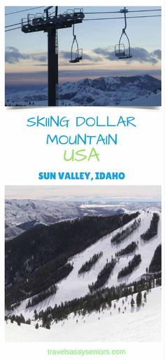 One of my life's ambitions has always been to be able to snow ski. This ambition has always eluded me until I visited Sun Valley Idaho in the USA.