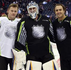 LGB! 3 of our players made it to the All-Star game! Go Tarasenko, Shattenkirk and Elliott!