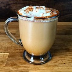 But if you're interested in a less sugary (just as delicious) version, we have just the thing. | Here's A Healthier Pumpkin Spice Latte You Can Make At Home - BuzzFeed News