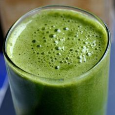 SOUNDS DELISH:  Daily low-sugar Green smoothie recipe....Gives you tons of energy and keeps your colon clean!    :-)