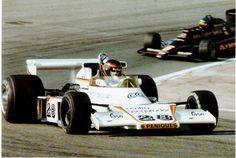 En 1978 emilio de villota - en el GP de España.