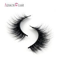 476170670aa Arison Lashes 1 Pair Mink False Eyelash Mink Lashes Fake eyelashes Handmade  with High Quality Popular