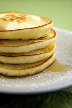 Weight Watchers Smoothie Pancakes.