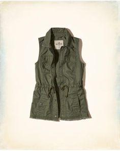 Military Twill Vest