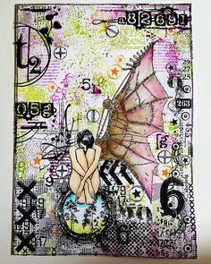 Art Journal Backgrounds, Art Journal Pages, Junk Journal, Art Journals, Journal Ideas, Beginner Art, Mixed Media Art, Mix Media, Art Journal Techniques