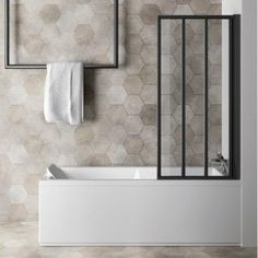 Bathtub Refinishing and Reglazing - Easy DIY Guide Minimalist Bathroom, Minimalist Home, Bathroom Renovations, Home Remodeling, Bathroom Ideas, Square Bathtub, Screened In Porch Furniture, Timeless Bathroom, Beautiful Bathrooms