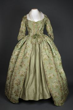 National Trust Inventory Number 602787  Category	Costume  Date	1780  Materials	Silk