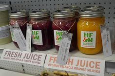 Look at us grow! Fresh organic 100% pure juices now available every Tuesday. Your mental clarity & energy in a jar.