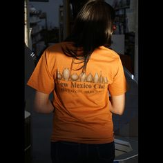 TShirt TX Orange 2X-Large Short Sleeve TShirt-2XL