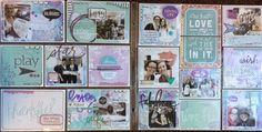 My Project Life spread: january 2015