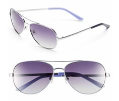 0a0d6845f0a Kate Spade Silver New Avaline Aviator Polarized 58mm Sunglasses 61% off  retail