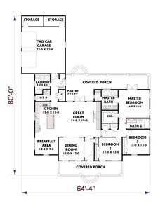 Garage in back house plans house design plans for House plans with garage in back
