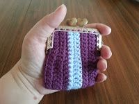 I've Made Friday Week 71 ~ Crochet Addict UK Candy coin purse from August's Inspired Crochet Magazine