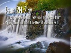 Psalm 121:1, 2