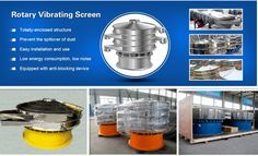 delivery of rotary vibrating screen