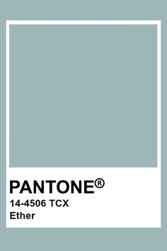 This color is teal in hue, medium in value, and low in chroma. This creates a really muted teal/blue. Paleta Pantone, Pantone Tcx, Pantone Swatches, Pantone 2020, Color Swatches, Colour Pallette, Colour Schemes, Color Trends, Color Combinations