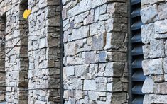 STONEPANEL™ cladding is the only pre-assembled natural stone product that is backed by BBA certification. Stone Cladding Tiles, Faux Stone Walls, Cladding Systems, Precast Concrete, Natural Stones, Facade, Brick, Architecture, Space Saving