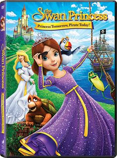 Discover The Swan Princess: Princess Tomorrow, Pirate Today available on DVD 9/6. Enter to win a copy for yourself,giveaway ends 9/17. #SwanPrincess