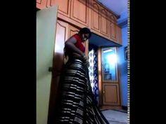 swathi naidu saree wearing video