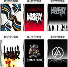 Back to school Linkin Park notebooks