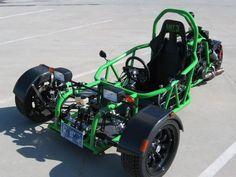 Go Kart Chassis, Kit Cars Replica, Motorized Trike, Go Kart Buggy, Diy Go Kart, Reverse Trike, Concept Motorcycles, Drift Trike, Trike Motorcycle