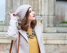 Huguette Paillettes - Couture - Tricot - Yellow Mood