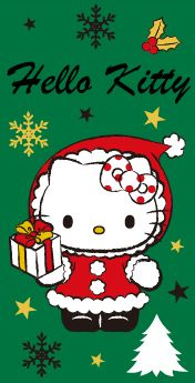 Christmas Cards, Merry Christmas, Hello Kitty Christmas, Hello Kitty Pictures, Winter Holidays, Sanrio, Painted Rocks, Snoopy, Kawaii