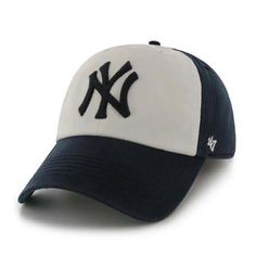 ffb95f6c33049 New York Yankees 47 Brand Navy Home Franchise Fitted Hat