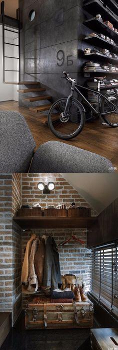 Loft con inspirador estilo